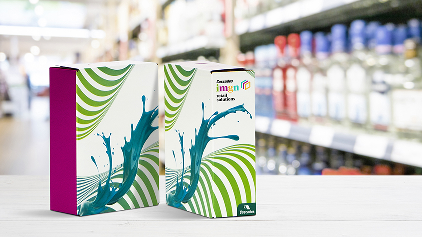Cascades consumer product packaging IMGN